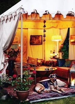 Lounge Tent Area