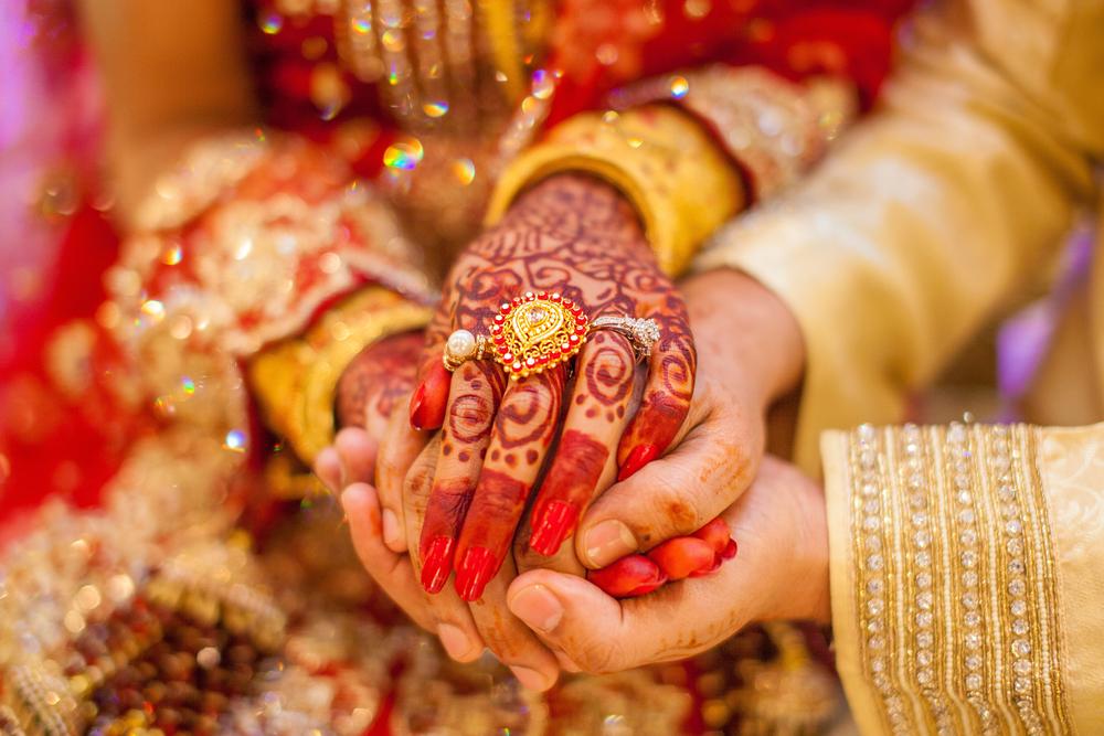 Indian Henna hands