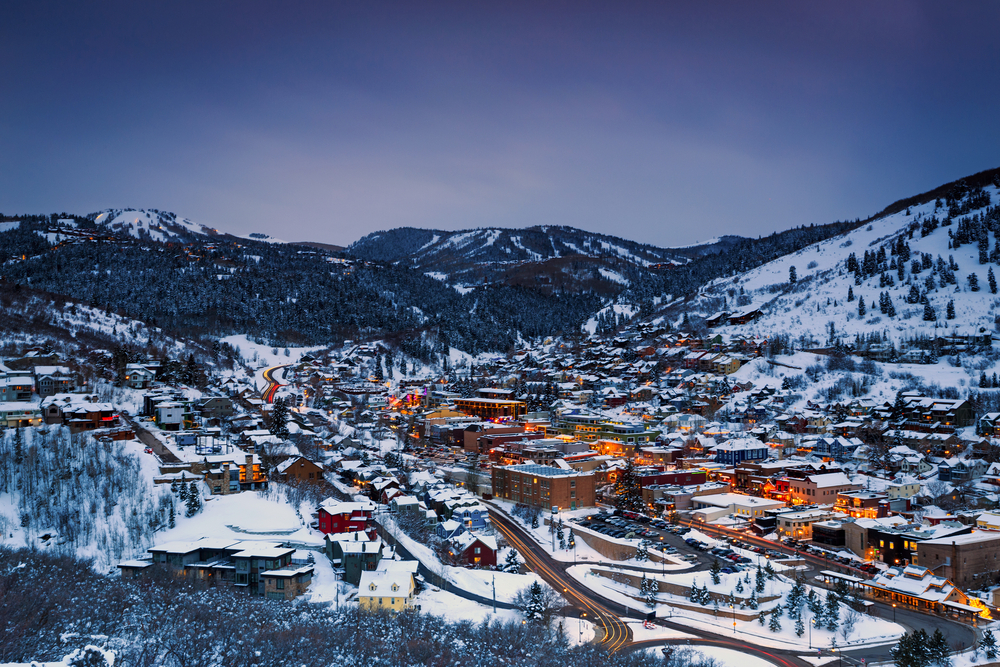 Park City, Utah winter