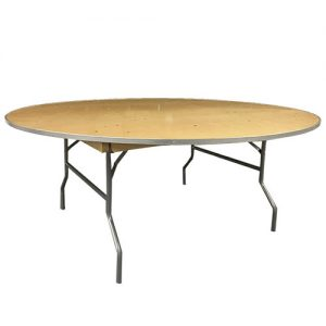 "72"" Inch Round Table for rent in Salt lake city Utah"