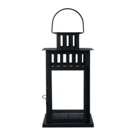 Black Framed Lantern Decor for Rent in Salt Lake County