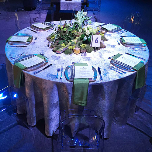 Round 72inch Table Example Picture