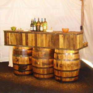 Whiskey Barrel Bar Rental in Salt Lake City, Ut
