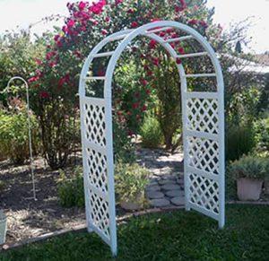 White Napa Eden classic Arch for rent in Ogden Utah