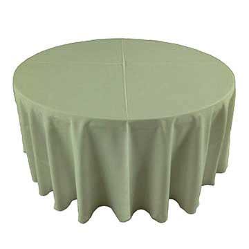 Celadon pale green linen for rent in Provo Utah