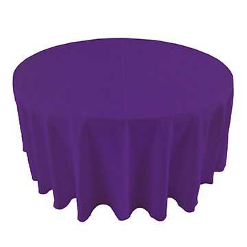 Grape Dark Purple linen for rent in Midvale Utah