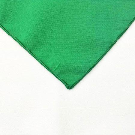 Kelly Green Polyester Napkin Linen for rent in riverton utah