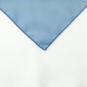 Light pastel Blue Polyester Napkin linen for holiday rental in Ogden utah