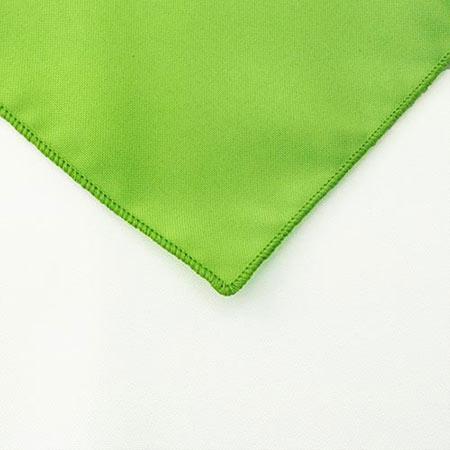 Lime Polyester Napkin Linen for rent in SLC utah