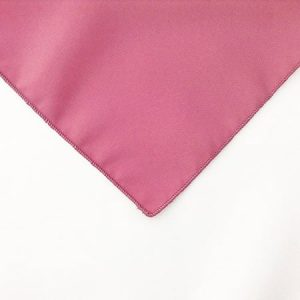 Mauve Pink Polyester Napkin linen for rent in Park City Utah