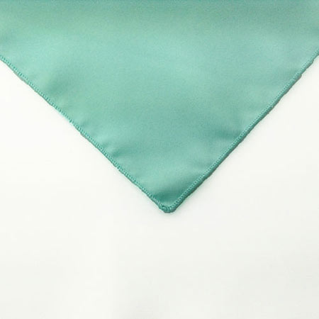 Mint Green Polyester Napkin linen for rent in Park City Utah
