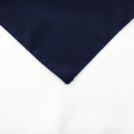 Navy Blue Polyester Napkin Linen for rent in Ogden utah