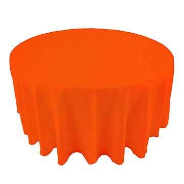 Bright Orange linen rental in Riverton Utah