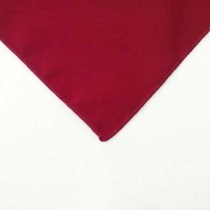 Pimento Red polyester Napkin for rent in Provo Utah
