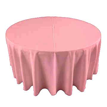 Bubble Gum Pink party linen for rental in Lehi Utah