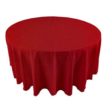 Bright Red Linen for rent in Murray Utah