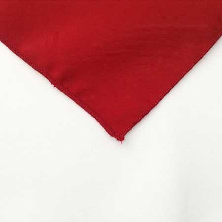 Bright Red Linen Napkin for rent in Murray Utah
