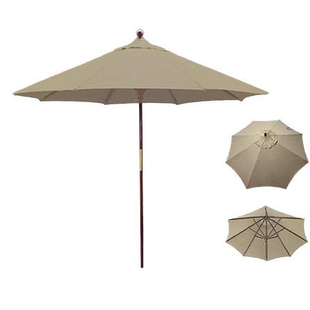 Beige Umbrella for Rent in Provo Utah