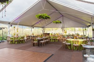 Dance Floor Tables and Chairs Summer Event All Out Event Rental