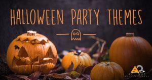 Halloween pumpkin graphic theme party