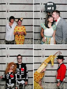 Pinterest picture of people in party costumes