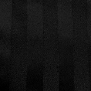 Swatch Poly Stripe Black Linen