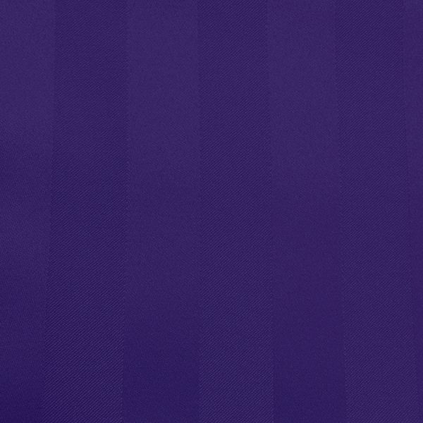 Poly Stripe Purple Linen Swatch