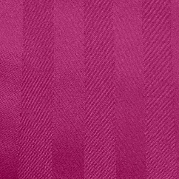 Poly Stripe Raspberry Linen Swatch