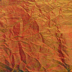 Poly Shalimar Mango Rayon Linen Swatch