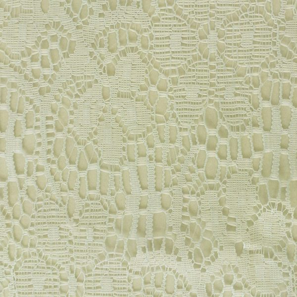 Eggshell Lace Linen Swatch
