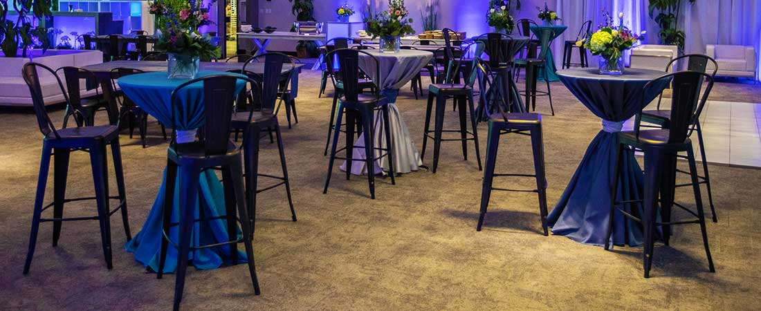Counter-height-elio-chairs-placed-around-cabaret-tables