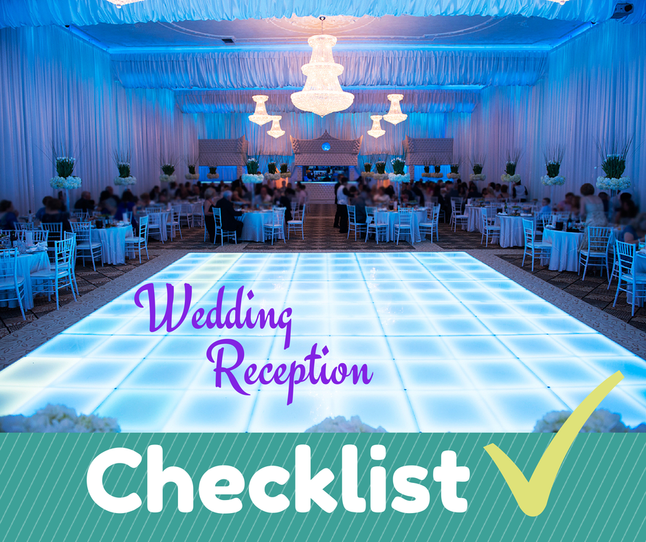 Wedding Reception Checklist