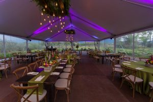Spring-Teme-Corporate-Event-with-Fruitwood-tables
