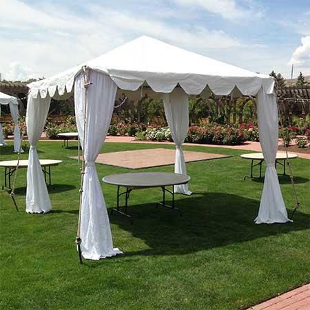 10 x 10 Standard Frame Canopy/ Tent for rent in Salt Lake City Utah