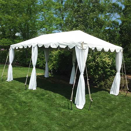 10 x 20 Standard Frame canopy- tent for rent in Salt Lake City Utah