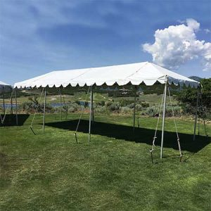 10 x 30 Standard Frame Canopy/ Tent for rent in Salt Lake City Utah