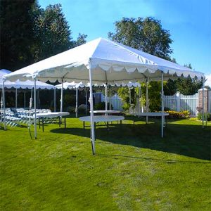 20 x 20 Standard Frame Canopy or Tent for Rent in Salt Lake City Utah