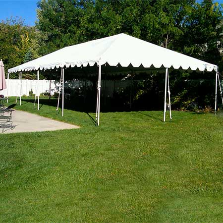 20 x 40 Standard Frame Canopy/ Tent for rent in Salt Lake City Utah