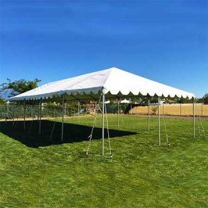 20 x 50 Standard Frame Canopy-Tent for rent in Salt Lake City Utah