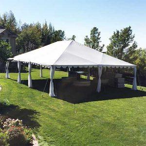 30 x 40 Standard Frame Canopy-Tent for rent in Salt Lake City Utah