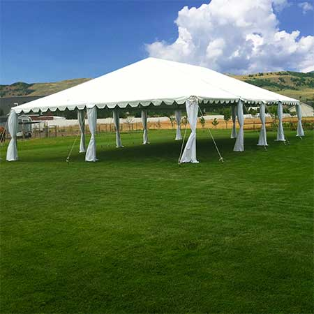 30 X 50 Standard Frame Canopy Tent All Out Event Rental