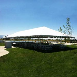 30 x 80 Standard Frame Canopy-Tent for rent in Salt Lake City Utah