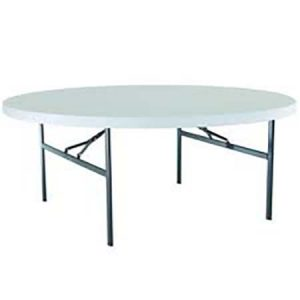 "60 "" inch round table for rent in Draper Utah"