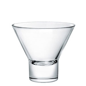 Stemless Martini Glass for rent in Salt Lake City Utah