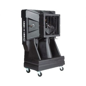 Black Portable Cooling Unit for rent in Salt Lake City Utah