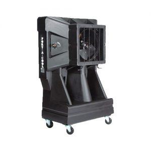Black Portable Cooling Unit for rent in Salt Lake City Utah