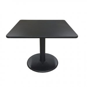 Black Square Table for rent in Utah