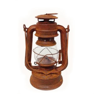 Rustic Decorative Lantern for centerpiece on table for rent in SLC utah