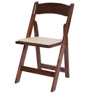 Fruitwood Chair with Pad for rent in Salt Lake City Utah