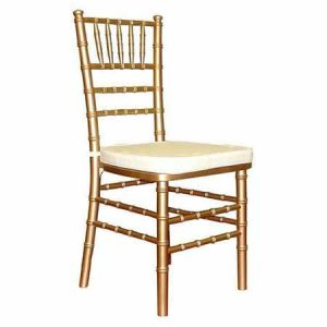 Gold Chiavari Chair for rent in Salt Lake City Utah